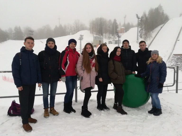 Учащиеся филиала БНТУ «БГПК» совершили увлекательную экскурсию по знаменитым местам Беларуси