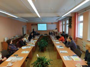 Учебно-методическое объединение преподавателей географии колледжей Минской области