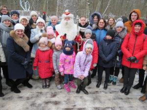Новогоднее путешествие в резиденцию Деда Мороза