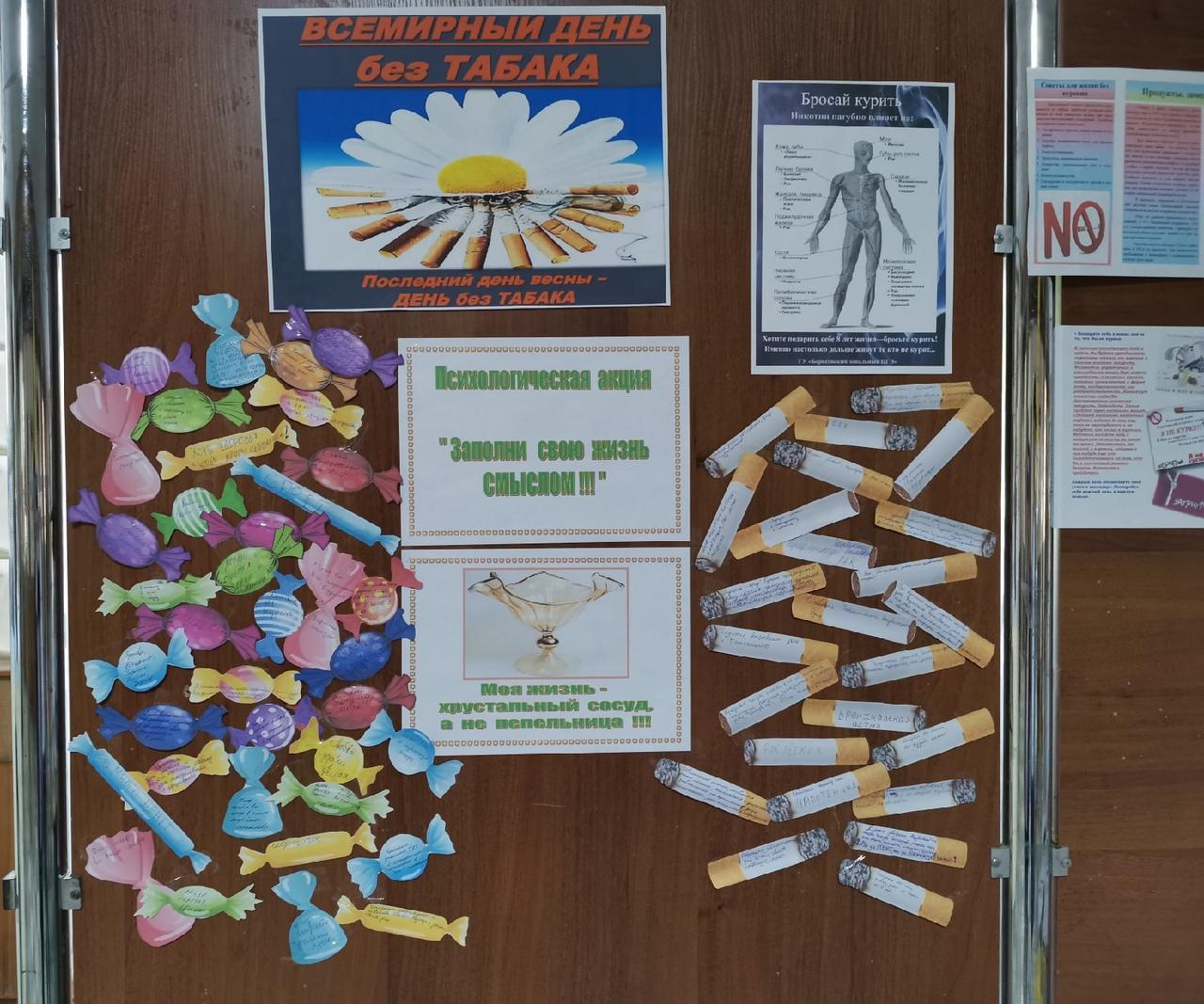 31 мая 2021 в филиале весь день проходили мероприятия под девизом: «БГПК без табака!»
